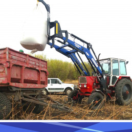 КУН на трактор МТЗ, ЮМЗ, Т-40 - быстросъемный погрузчик Grand Max-MX