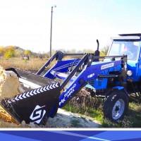 Быстросъемный КУН на МТЗ фронтальный погрузчик Grand Max-MX на трактор