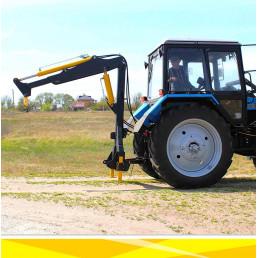 Кран манипулятор Grand Max SL-4.5 (не поворотный) для тракторов