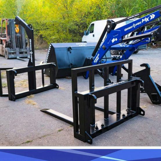 Основные параметры выбора фронтального погрузчика на трактор: разъяснение основных свойств техники