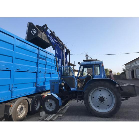 Как выбрать навесной фронтальный погрузчик на трактор: полезные рекомендации для покупателей