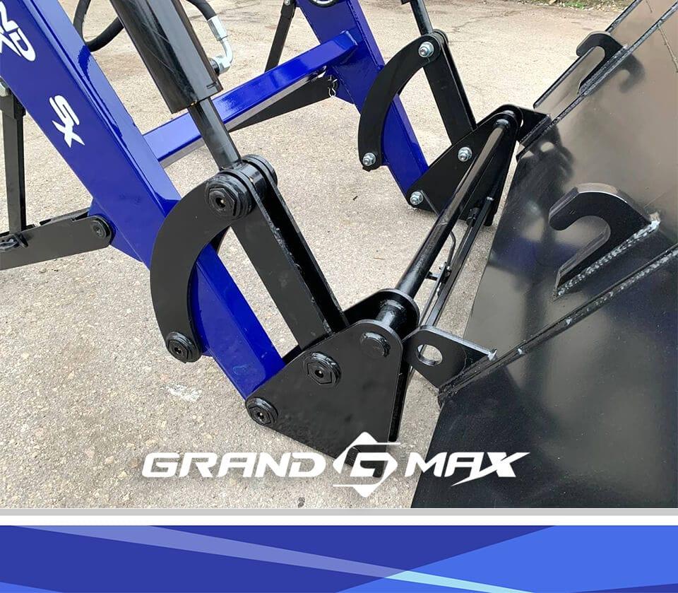 КУН погрузчик фронтальный на МТЗ с балочным мостом Grand Max Evolution