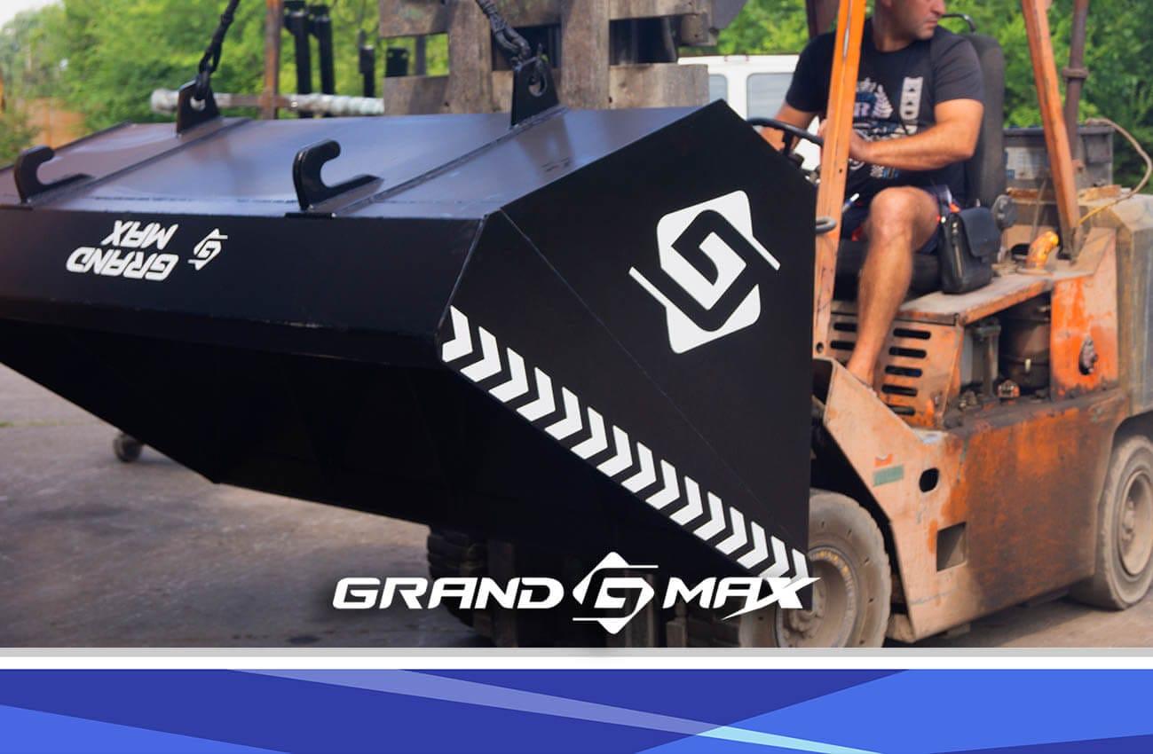 Погрузчик на навеску трактора МТЗ, ЮМЗ, Т-40 - Grand Max-MX