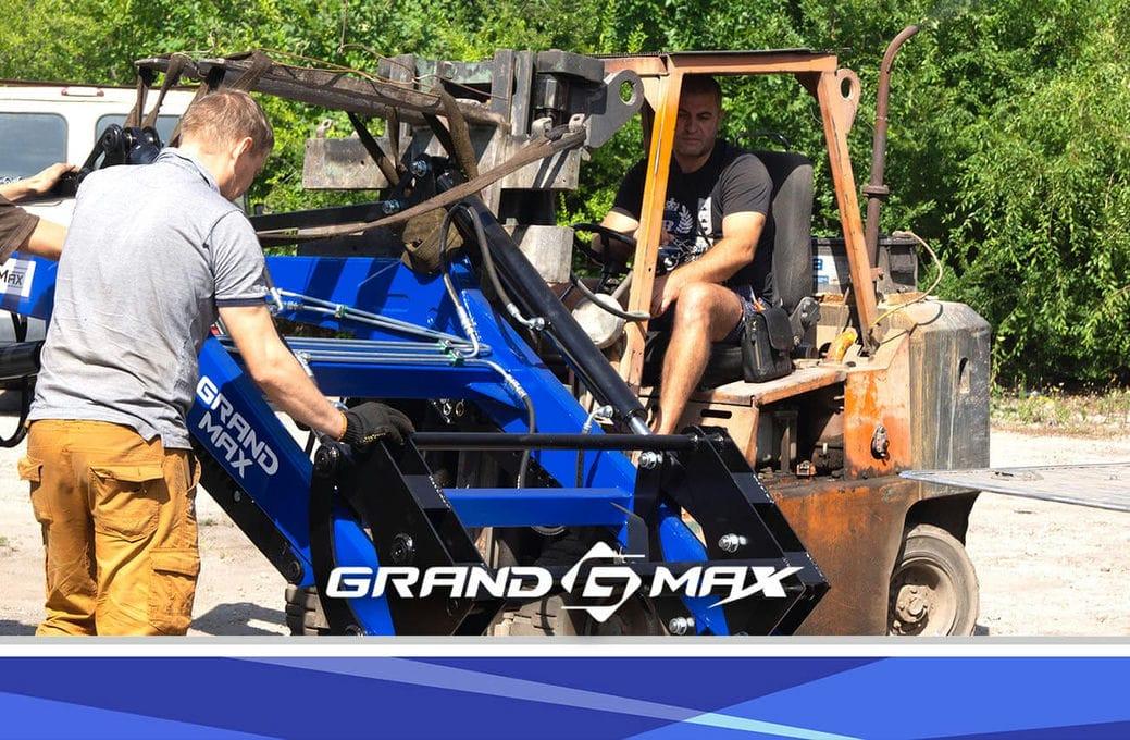 Быстросъемный навесной погрузчик на трактор Grand Max-MX