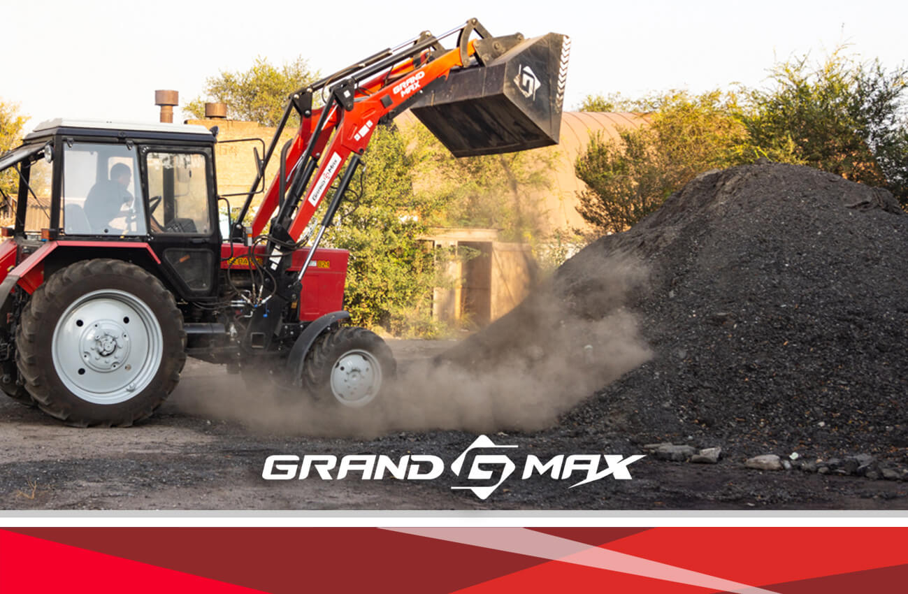 Быстросъемный КУН Grand Max-MX погрузчик на трактор Т-40 , ЮМЗ, МТЗ