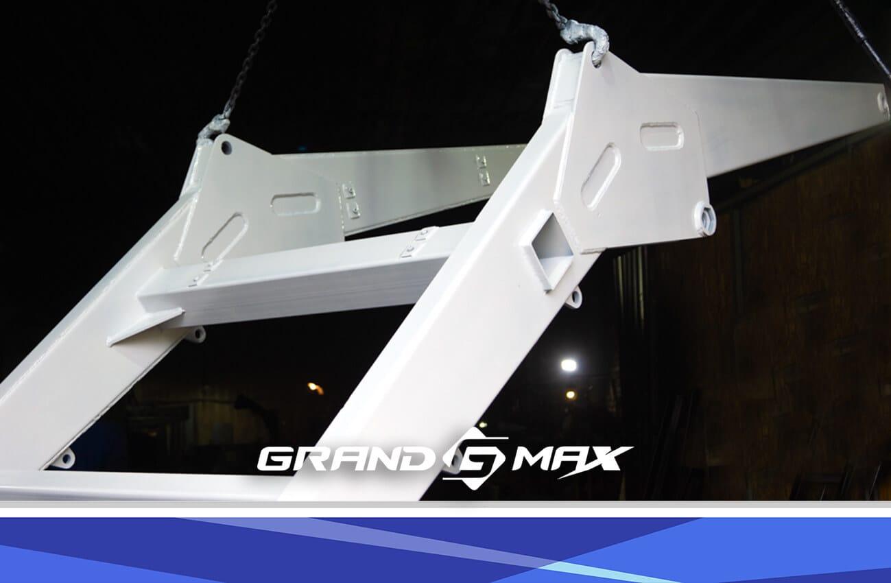 Фронтальный погрузчик на МТЗ, ЮМЗ, Т-40 - Grand Max-MX (быстросъемный)