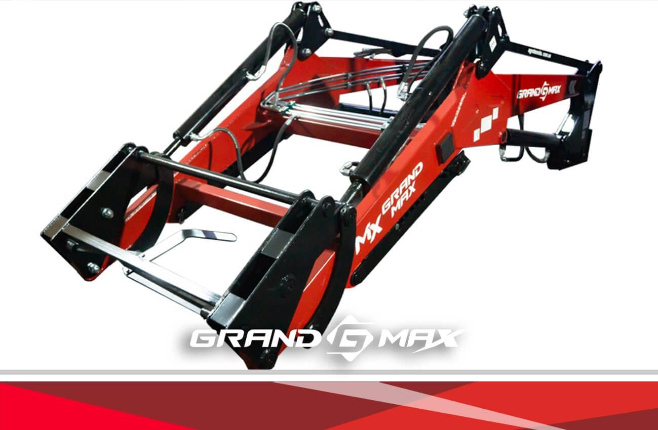 универсальный  Grand Max-MX - фронтальный погрузчик на трактор МТЗ, ЮМЗ, Т-40
