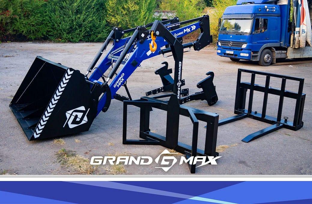 Быстросъемный фронтальный погрузчик на Т-40, МТЗ, ЮМЗ Grand Max-MX