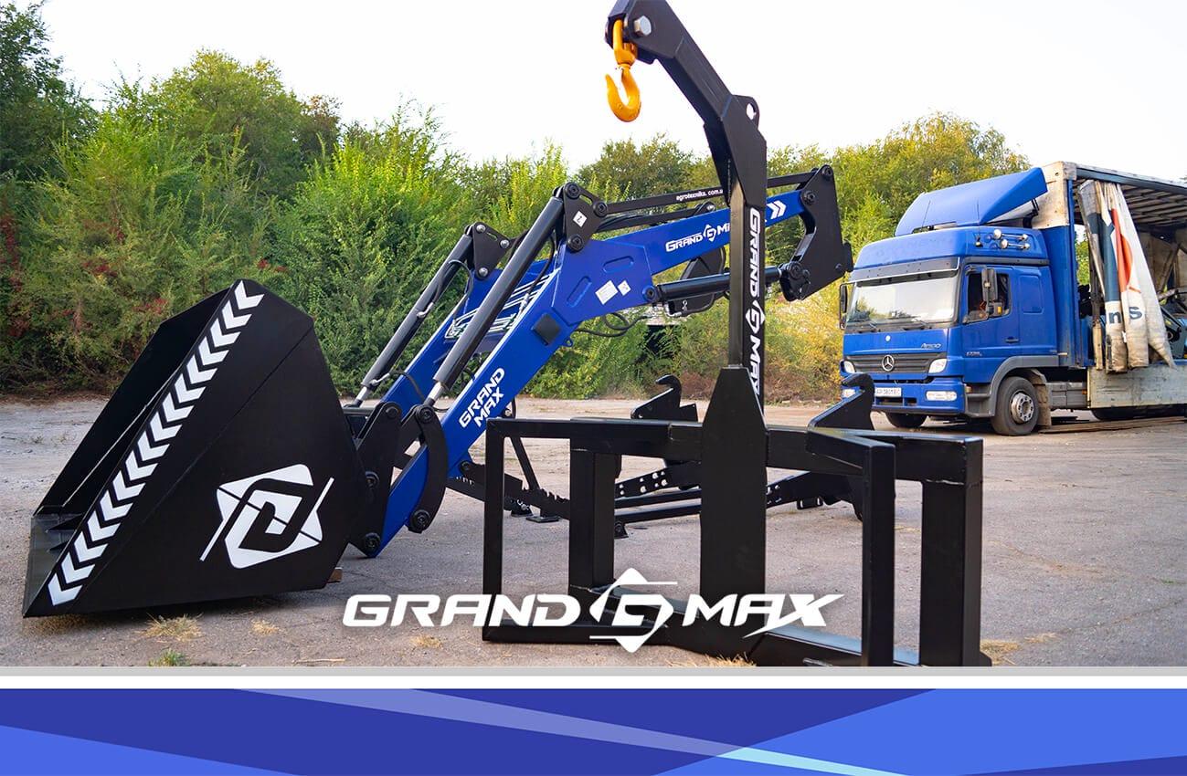 Крюк для поднятия Биг-бегов GRAND MAX