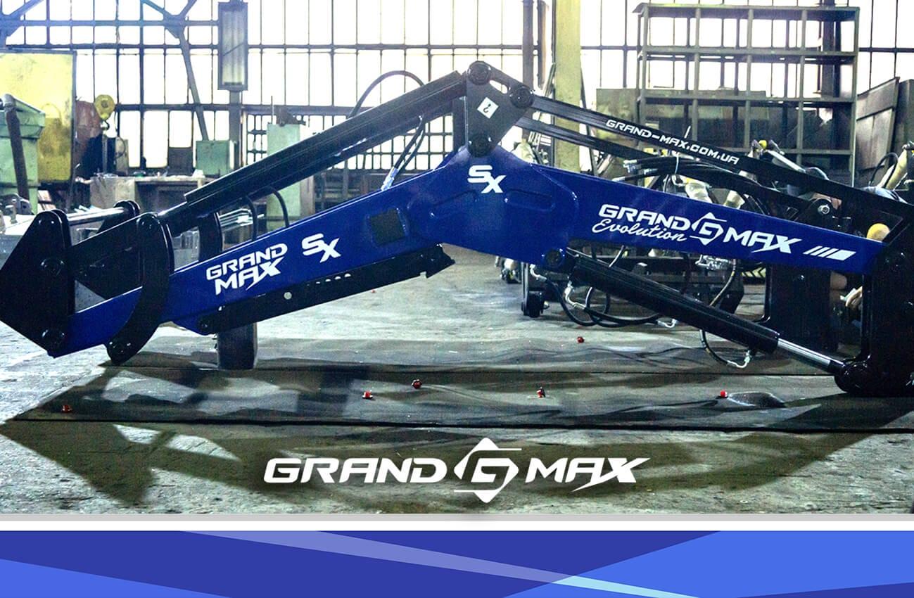 Фронтальный погрузчик КУН Grand Max-MX на МТЗ, ЮМЗ, Т-40