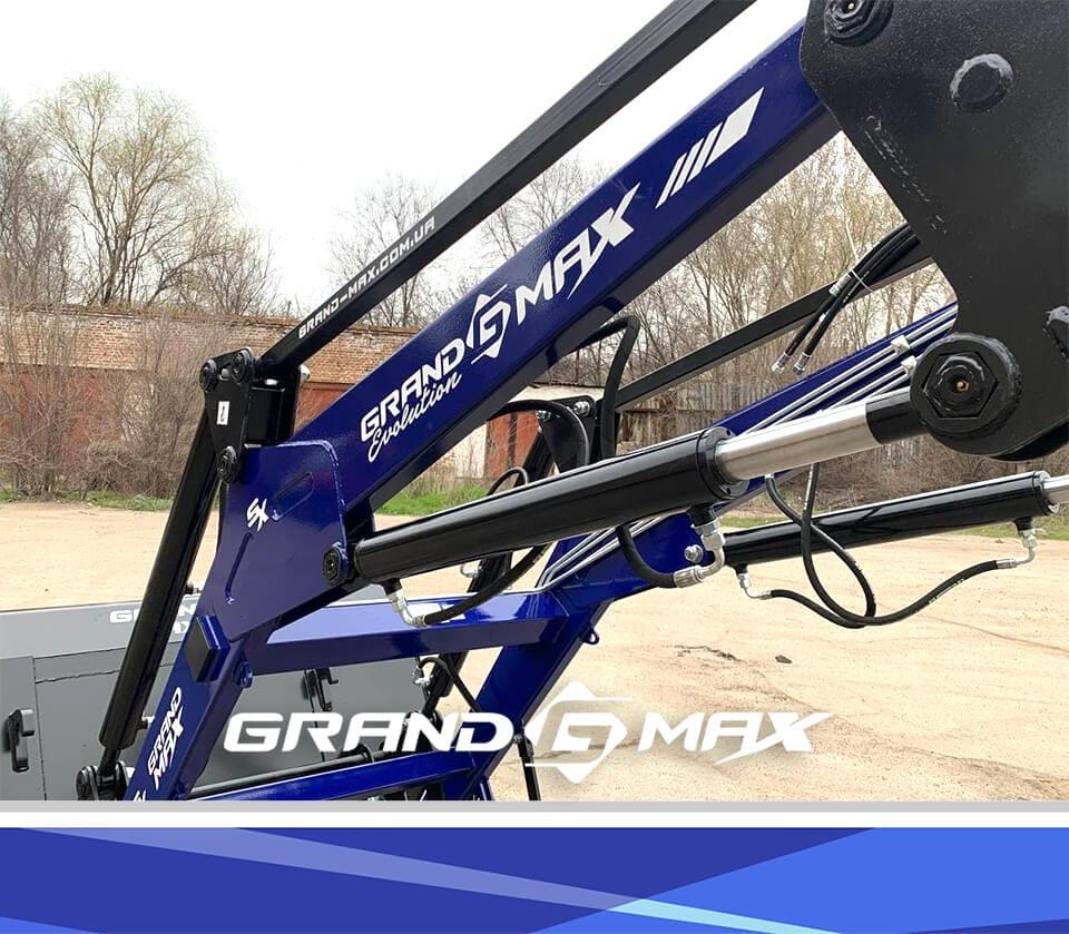 Навесной погрузчик КУН на МТЗ-80, МТЗ-82,МТЗ-892 Grand Max Evolution высота выгрузки 4,3м