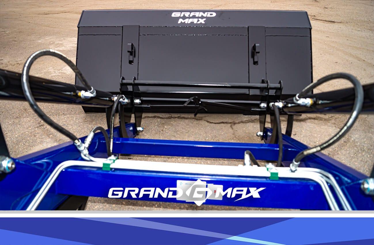Усиленный фронтальный погрузчик Grand Max Evolution SX КУН на МТЗ, ЮМЗ