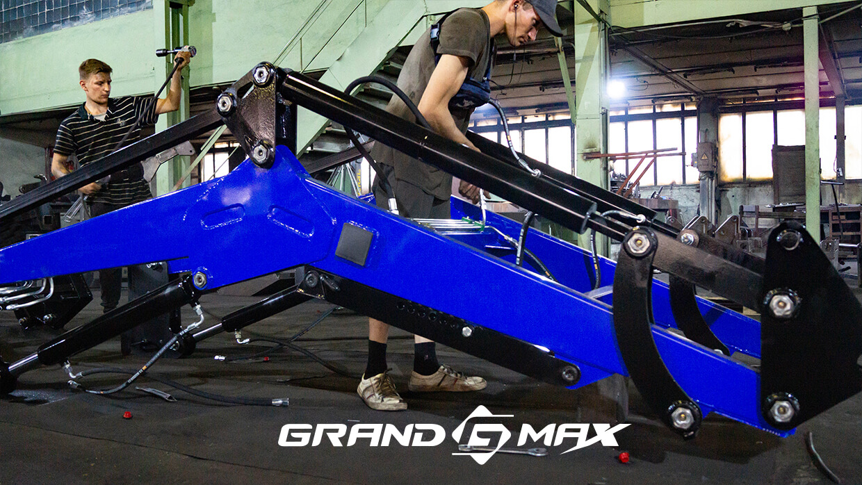 Фронтальный погрузчик на трактора МТЗ, ЮМЗ, Т-40 Grand Max-MX