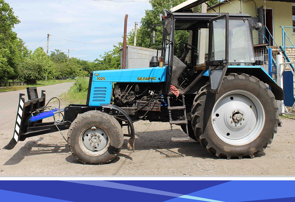 Грейдерный отвал (лопата) на трактор МТЗ, ЮМЗ, Т-40